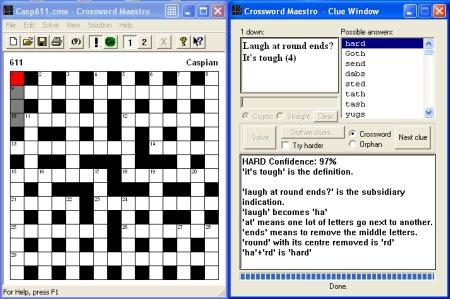Crossword Maestro - Cryptic Crossword Puzzle Solver