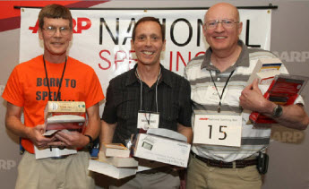 Top 3 Spellers of the 2009 National Senior Spelling Bee