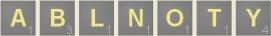 Anagrams Scrabble