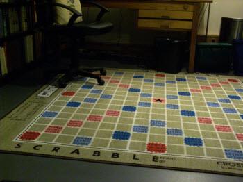 Darryl Francis Scrabble Rug