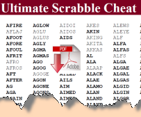 scrabble cheats for scrabble cheats