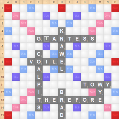 Trip Payne's 10 letter bingo