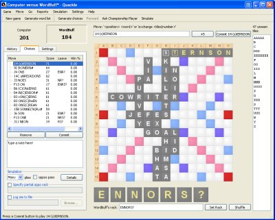 Quackle - Scrabble Solver
