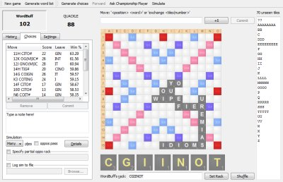 Free Scrabble Solver